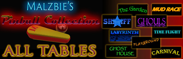 Malzbies Pinball Collection - All tables at once