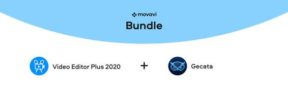 Movavi Video Editor Plus 2020 + Gecata by Movavi 5  - Game Recorder