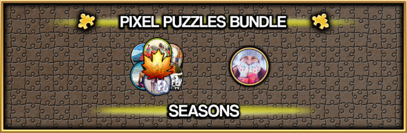 Pixel Puzzles Jigsaw Bundle: Seasons