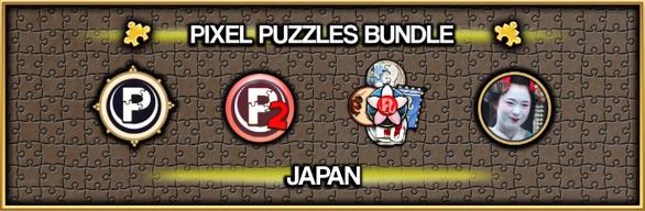 Pixel Puzzles Jigsaw Bundle: Japan