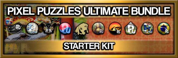 Pixel Puzzles Ultimate: Jigsaw Starter Kit
