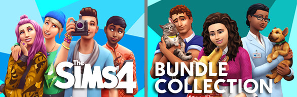 The Sims™ 4 Deluxe + Cats & Dogs Bundle