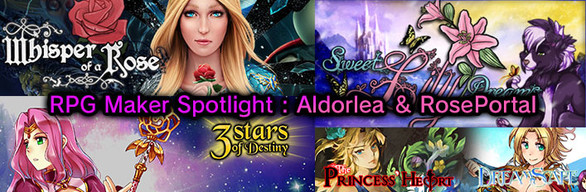 RPG Maker Spotlight: Aldorlea & RosePortal