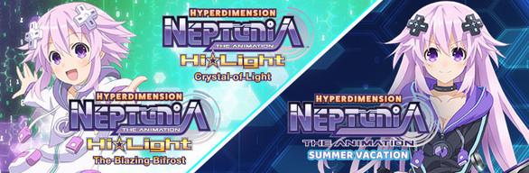 Neptunia Anime + Game Duo Bundle