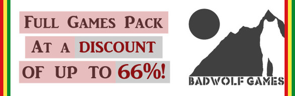 Special offer! BadWolf Games Full Pack Collect