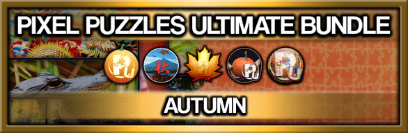 Pixel Puzzles Ultimate: Autumn Jigsaw Collection