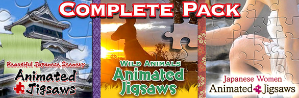 Animated Jigsaws Complete Pack