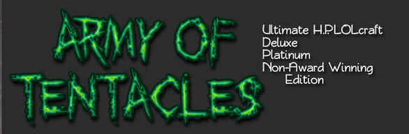 Army of Tentacles: Ultimate H.P. LOLcraft Deluxe Platinum Non-Award Winning Pack