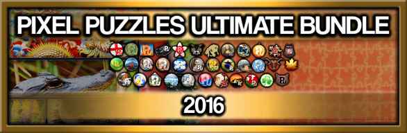 Pixel Puzzles Ultimate: 2016 Collection