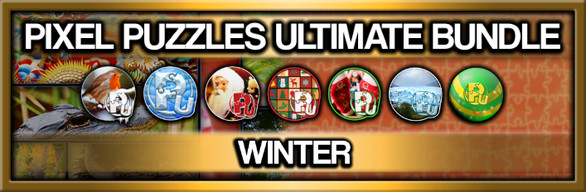 Pixel Puzzles Ultimate: Winter Collection