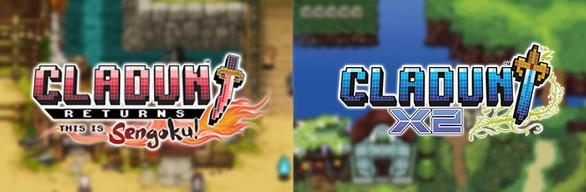 Cladun Returns: This Is Sengoku! / Cladun X2 / クラシックダンジョン 戦国 / クラシックダンジョンX2 (2 Games)