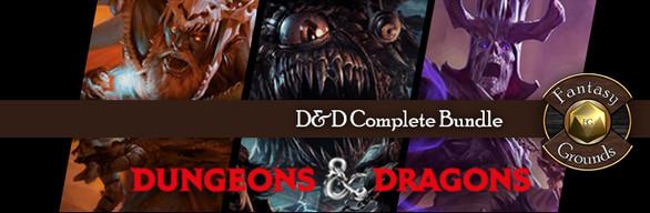 Fantasy Grounds D&D Complete Bundle