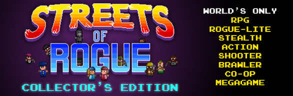 Streets of Rogue Collector's Edition