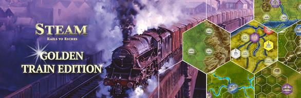 Steam: Rails to Riches - Golden Train Edition