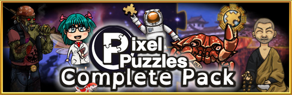 Pixel Puzzles Complete Jigsaw Collection