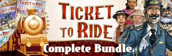 steam で 55 オフ ticket to ride complete bundle