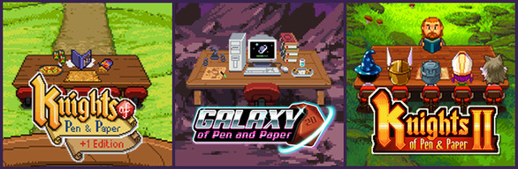 Knights of Pen and Paper and Galaxy of Pen and Paper Bundle