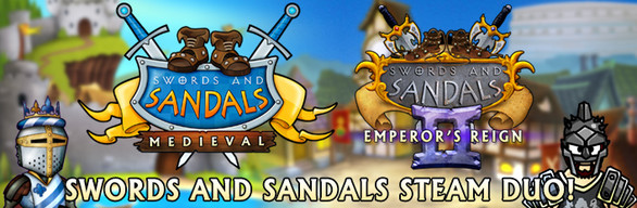 Swords and Sandals Steam Duo Bundle