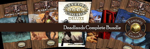 Fantasy Grounds Deadlands Reloaded Bundle