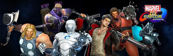 Marvel vs. Capcom: Infinite - Avenging Army Costume Pack