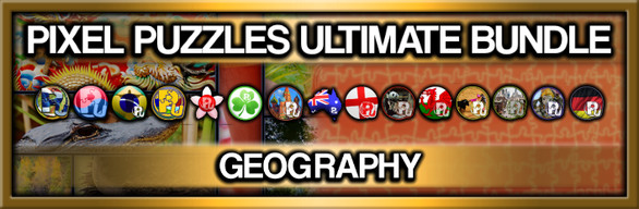 Pixel Puzzles Ultimate Jigsaw Bundle: Geography