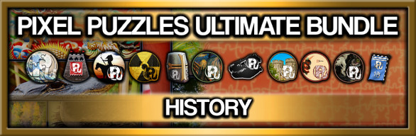 Pixel Puzzles Ultimate: History Collection