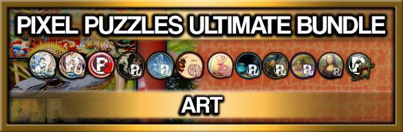 Pixel Puzzles Ultimate Jigsaw Bundle: Art