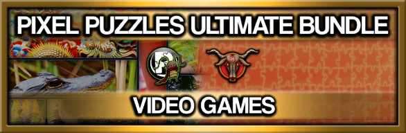 Pixel Puzzles Ultimate Jigsaw Bundle: Video Games