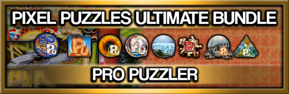 Pixel Puzzles Ultimate: Pro Puzzler Collection