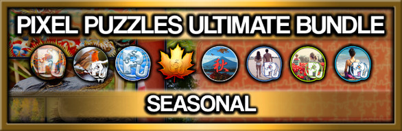 Pixel Puzzles Ultimate Jigsaw Bundle: Seasonal