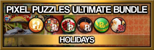 Pixel Puzzles Ultimate: Holiday Jigsaw Collection