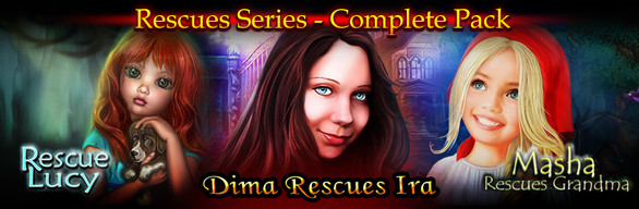 [Complete Pack] Rescues Series - Hidden Object Pack #1
