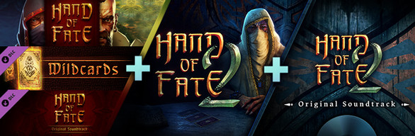 Everything Hand of Fate 1 and 2, inc soundtracks and DLC