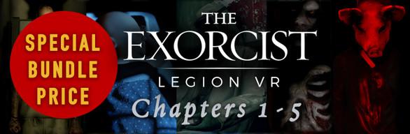 The Exorcist Legion Bundle -  Chapters 1, 2, 3 & 4!