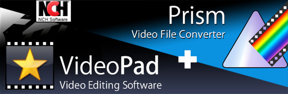 Video Editing Bundle: VideoPad Editor and Prism Converter