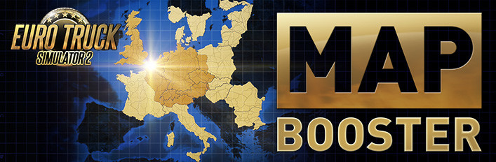 Save 67% on Euro Truck Simulator 2 Map Booster on Steam