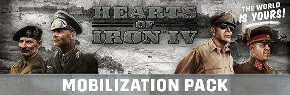 Hearts of Iron IV: Mobilization Pack · BundleID: 5641 · Steam Database
