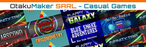 [Complete Bundle] OtakuMaker SARL - Casual Games