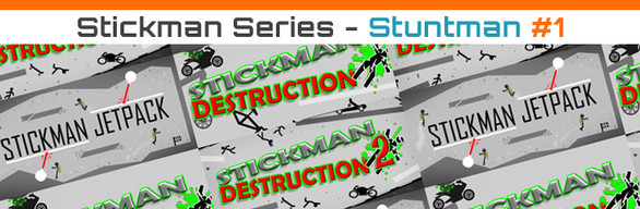 [Complete Pack] Stickman Series - Stuntman Pack #1