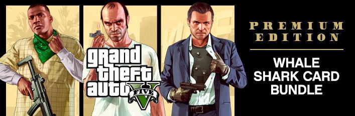 Grand Theft Auto V: Premium Online Edition & Whale Shark