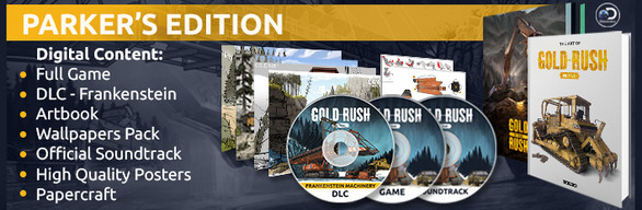 Gold Rush: The Game - Parker's Edition