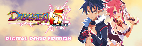 Disgaea 5 Complete: Digital Dood Edition (Game + Art Book)