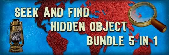 Seek and Find Hidden Object Bundle 5-in-1