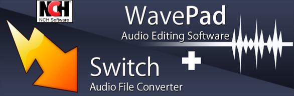 Audio Editing Bundle: WavePad Editor and Switch Converter