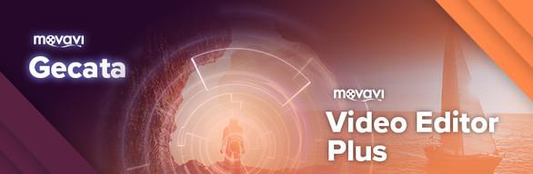 Movavi Video Editor + Gecata by Movavi - Game Recorder