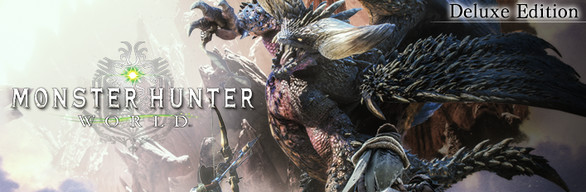 Save 44% on Monster Hunter: World Deluxe Edition on Steam