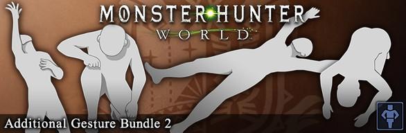 Monster Hunter: World - Additional Gesture Bundle 2