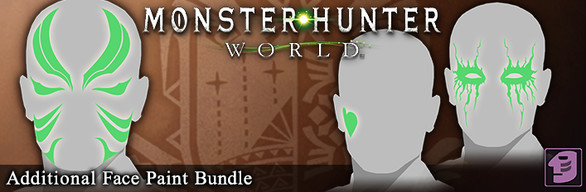 Monster Hunter: World - Additional Face Paint Bundle