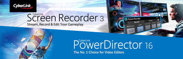 CyberLink ScreenRecorder 3 Deluxe & PowerDirector 16 Ultra