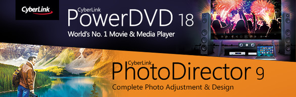 CyberLink PowerDVD 18 Ultra & PhotoDirector 9 Ultra